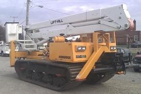 469T (Morooka MST1500 w/ Lift-All LOM50 Material Handler)