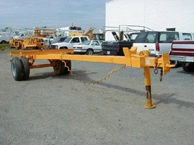 RQ436 (7-Ton Extendable Pole Trailer)