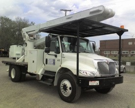 324U – Reverse Mount Tree Truck