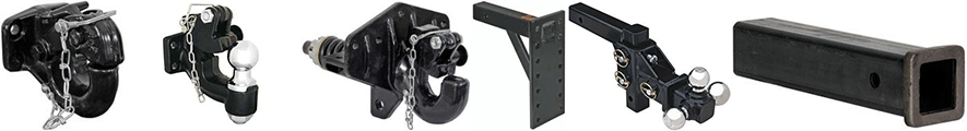 Buyers Products Pintle Hooks, Mounting Plates & Receiver Tubes at PLREI