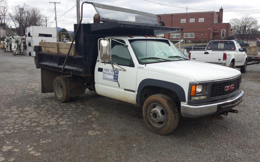 393N (Dump Truck, 4×4)