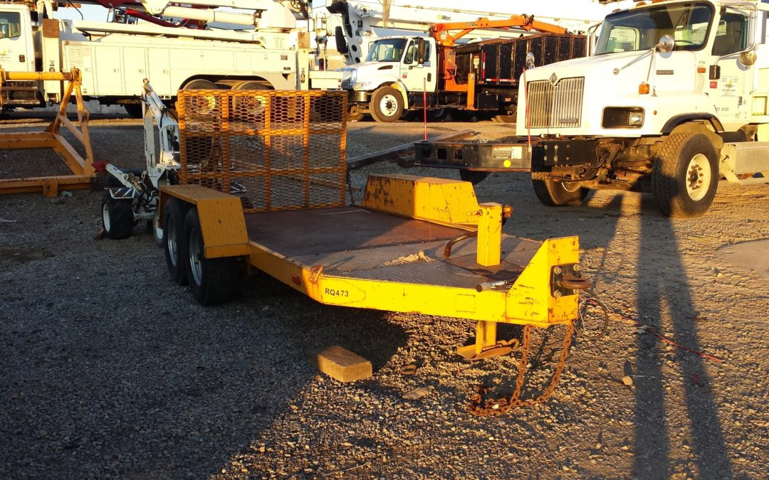 RQ473 (5 Ton Equipment Trailer)