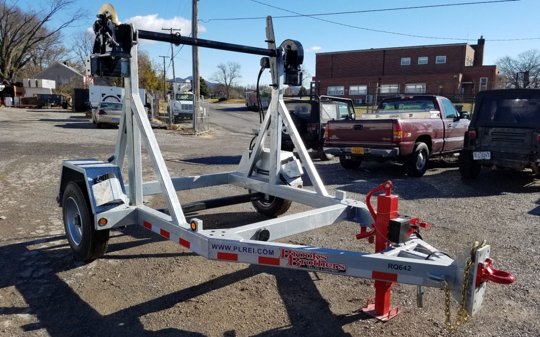 RQ642  (Brooks Brothers SRT 8110 Reel Cart)